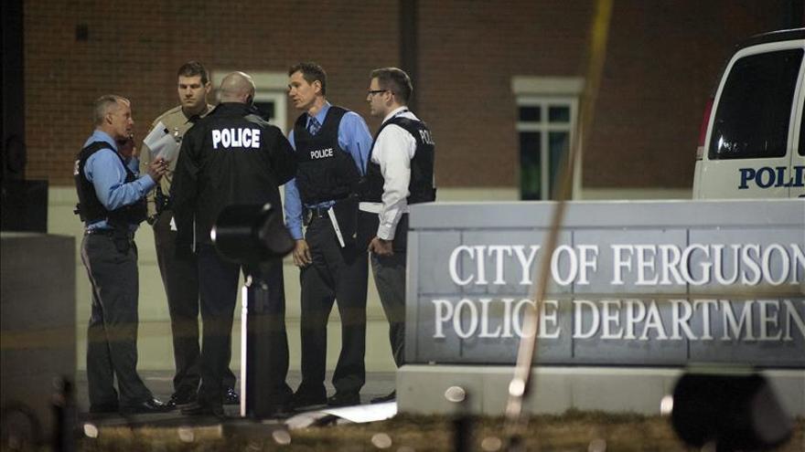 Arrestado un sospechoso de disparar a dos policías en protestas en EE.UU.