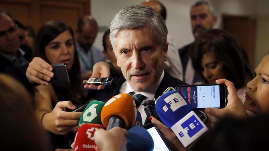 Marlaska: El Gobierno tiene proyecto y sabe que la sociedad quiere distensión