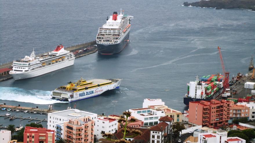 El Puerto de la capital incrementa su actividad en tráfico de cruceros.