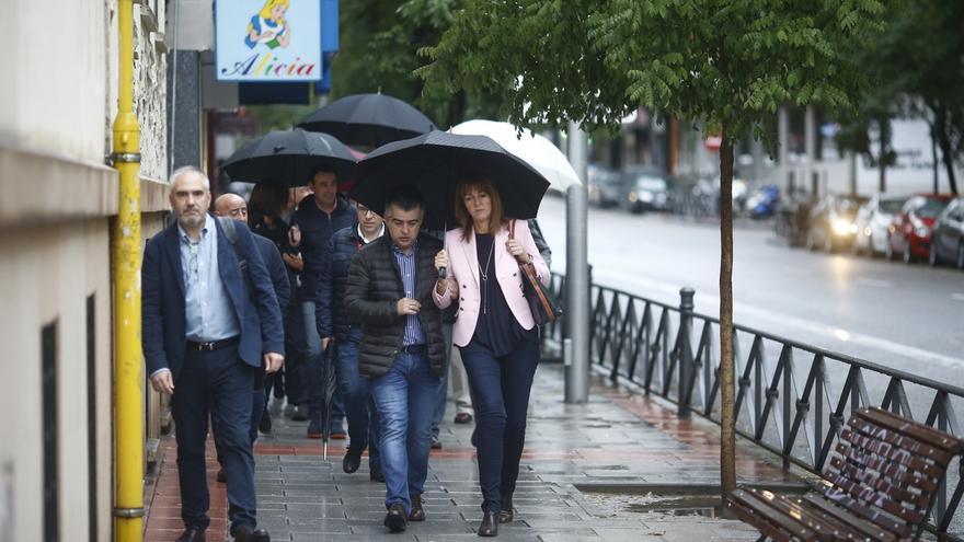 Idoia Mendia pone como ejemplo de integración el Congreso del PSC y no se pronuncia sobre candidatos a liderar el PSOE
