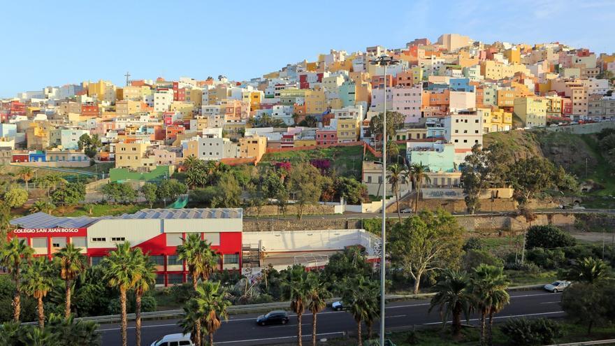 Las Palmas de Gran Canaria, una de las ciudades más coloridas del mundo según el portal francés Liligo