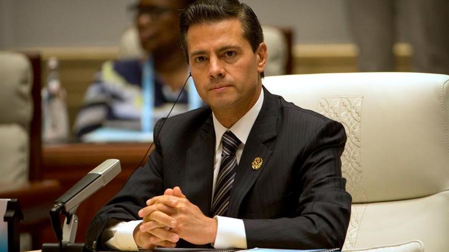 Peña Nieto declara emergencia en Chiapas y dice que el terremoto fue de 8,2