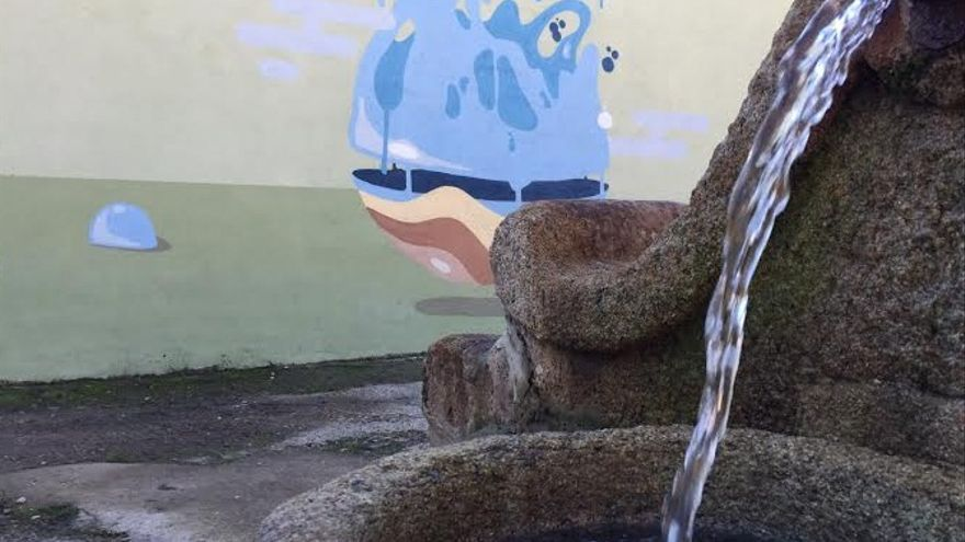 Mural de Villasbuenas de Gata