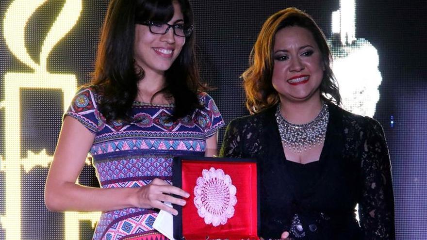 Activista paraguaya y periodista de Efe premiados por su defensa de los DD.HH.