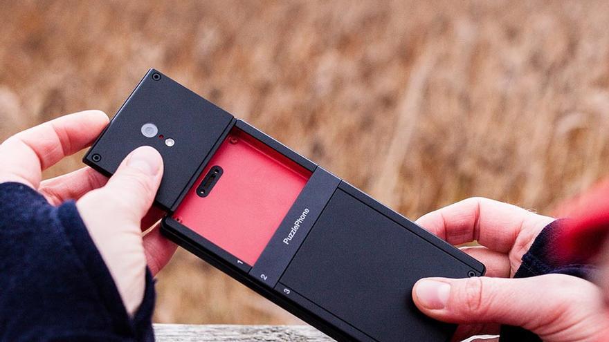 PuzzlePhone, el 'smartphone' modular hispano-finlandés que estará disponible el año que viene