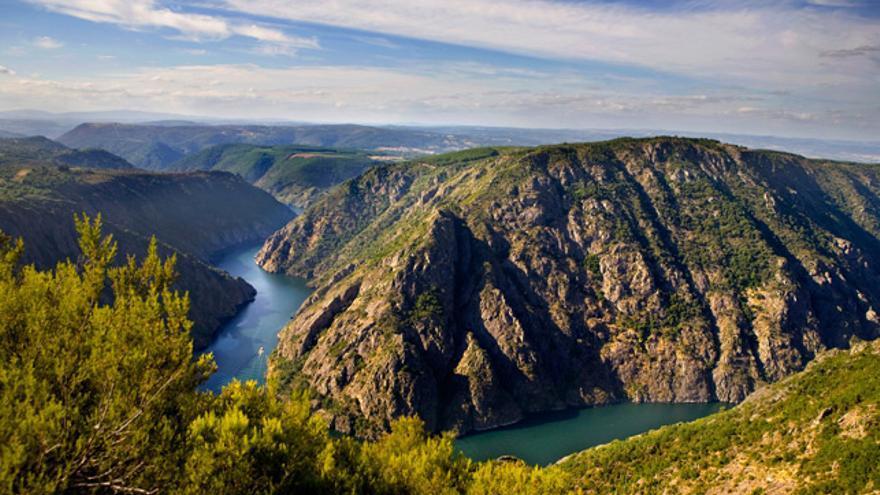 El cañón del río Sil, seña de identidad de la Ribeira Sacra.