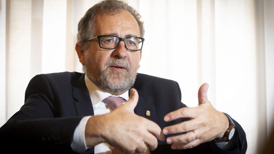 José Pascual Martí, presidente de la Diputación de Castellón.