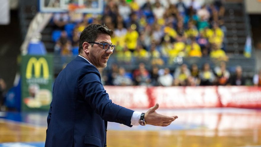 Fotis Katsikaris, técnico del Iberostar Tenerife