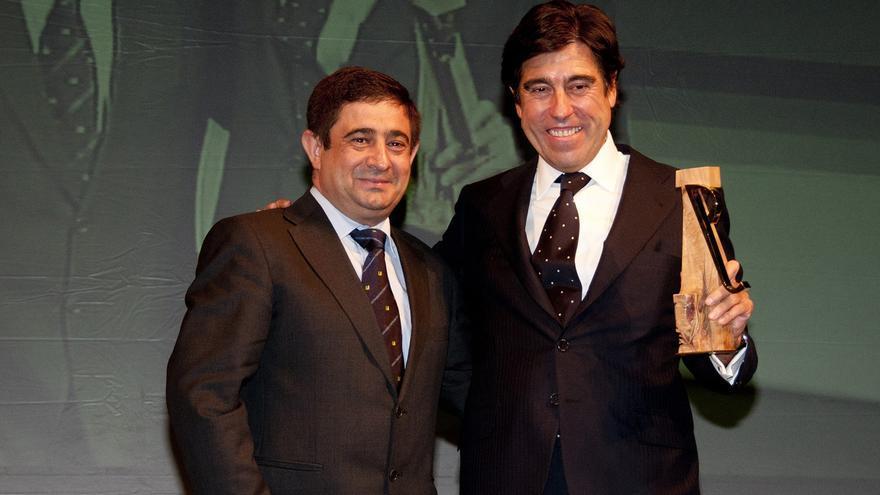 Manuel Manrique (Sacyr), galardonado con el premio 'Jaén, paraíso interior'