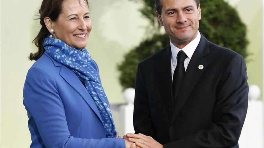 """Peña Nieto: """"Es posible un nuevo régimen climático sin frenar el desarrollo"""""""