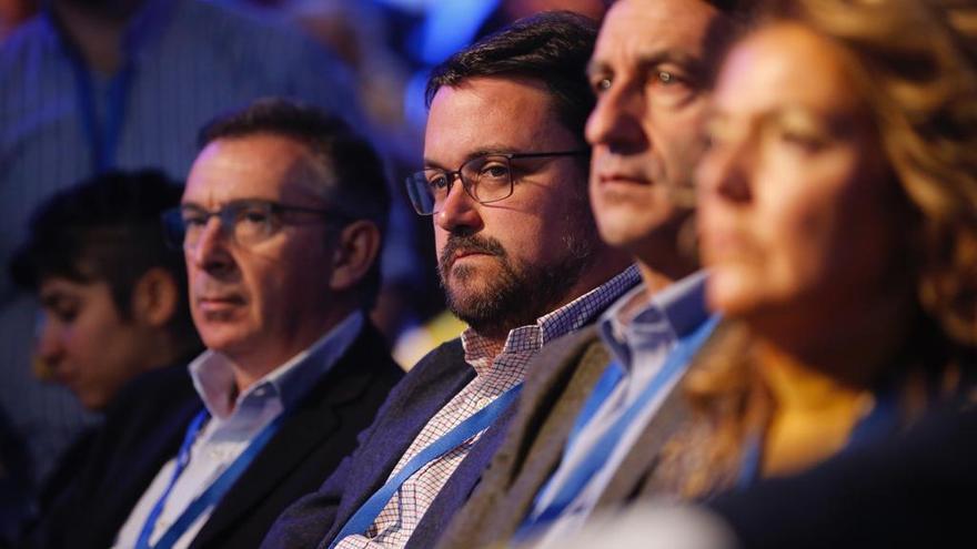 Asier Antona, en la Convención Nacional del PP.