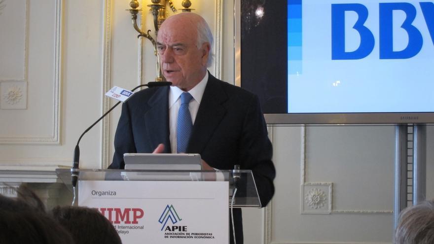 "(Amp.) González (BBVA) avisa de que ""las promesas inviables pasan facturas muy altas"""