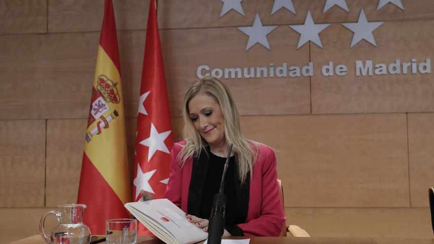 """Cifuentes a Henríquez de Luna: ¿Dónde está el problema para presentarse si los candidatos van a tener el mismo tiempo?"""""""