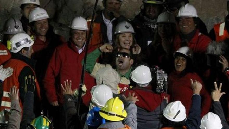 Del rescate en la mina chilena #2