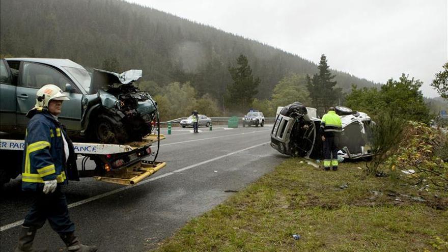 Nueve personas mueren en las carreteras en lo que va de fin de semana