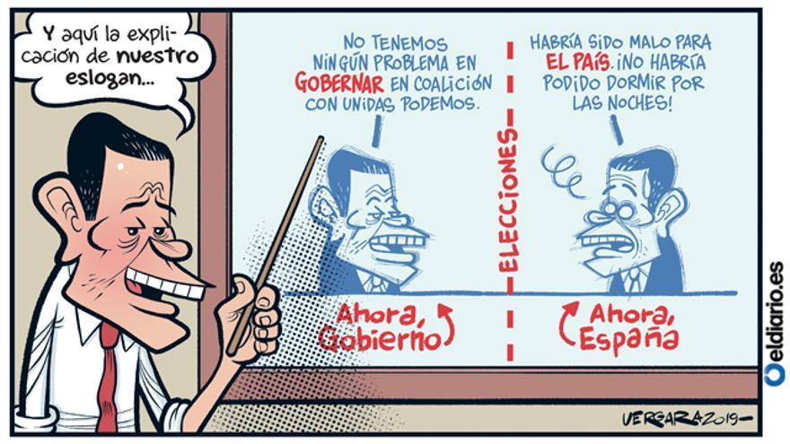 Ahora, Gobierno. Ahora, España
