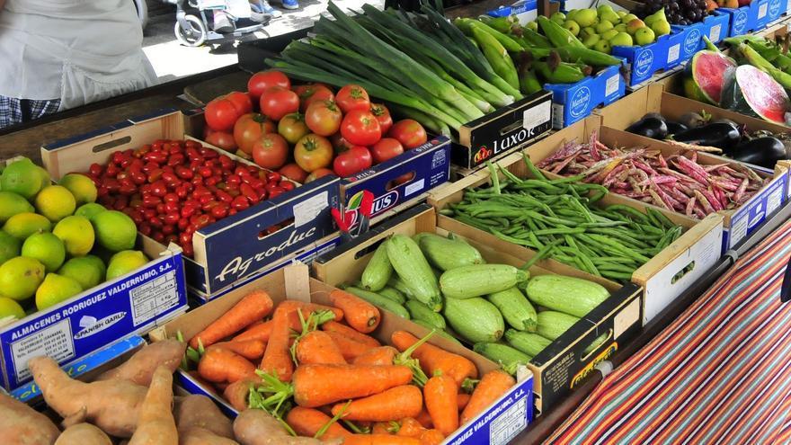 Productos agrícolas a la venta
