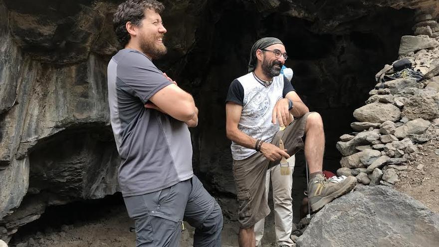Los directores, Francisco y Javier, encantados por cómo marcha el proyecto.