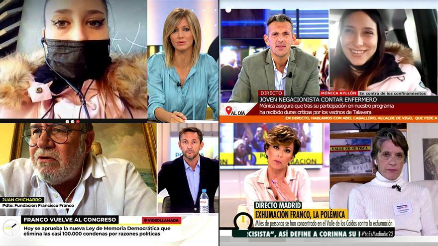 Polemistas en TV