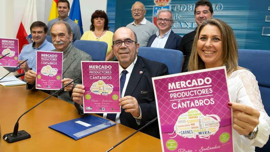 Santander acoge el domingo el I Mercado de Productores Cántabros de Tetuán