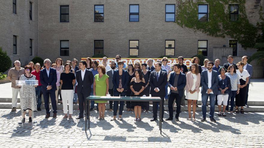 Firma del primer Pacto Aragonés por la Cooperación al Desarrollo