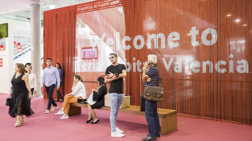 Entrada a la Feria Habitat, que en 2019 ha superado los 33.000 asistentes.