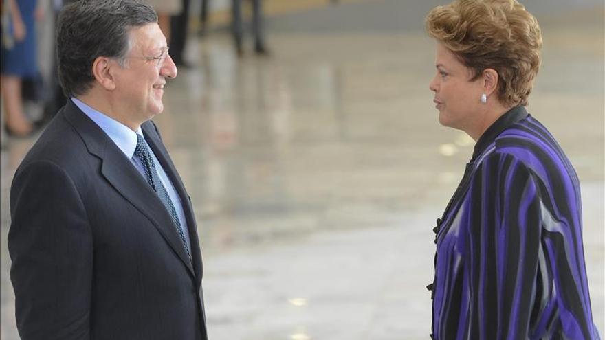 Brasil y la UE coinciden en mejoría económica internacional, según Rousseff