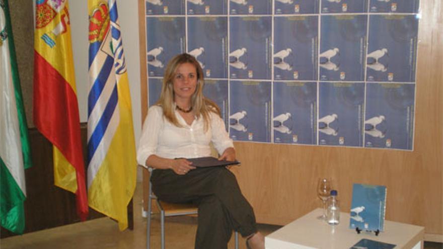 Montserrat Márquez, conejala de Desarrollo Local del PSOE en Isla Cristina/FOTO: lahiguerita.com