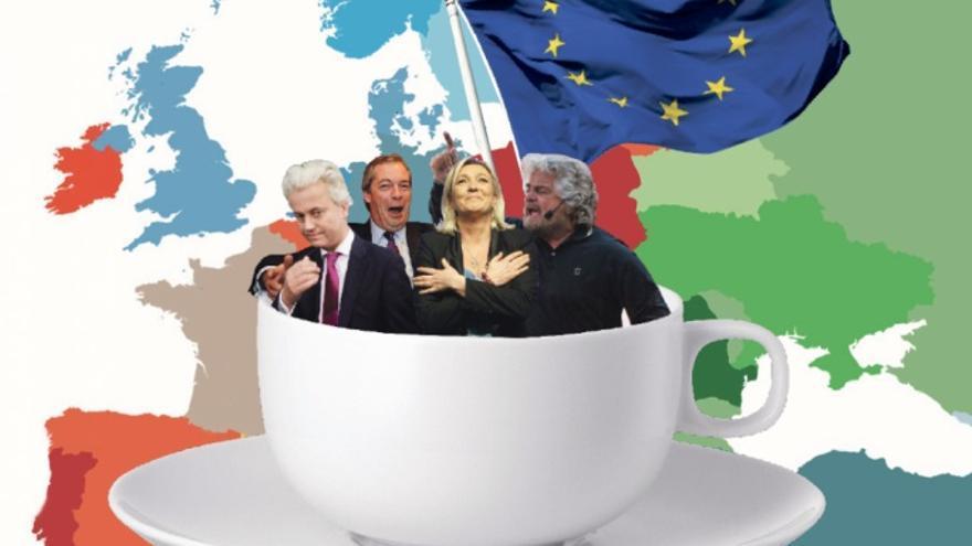 Wilders, Le Pen, Farage, Grillo