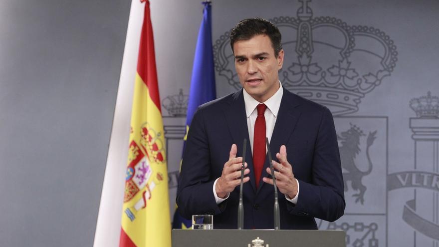 """Pedro Sánchez asegura que, si es presidente, hará """"cumplir la ley"""" ante una declaración de independencia en Cataluña"""