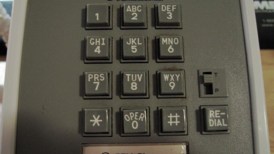 Un teclado de teléfono Bell, ya con el asterisco y la almohadilla incorporados (Foto: Bill Bardford | Flickr)
