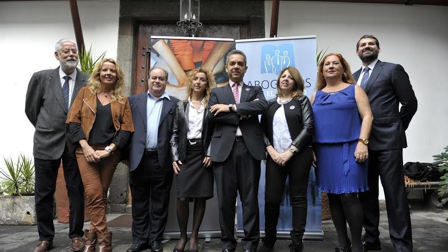 Los candidatos de Abogados por el Cambio.