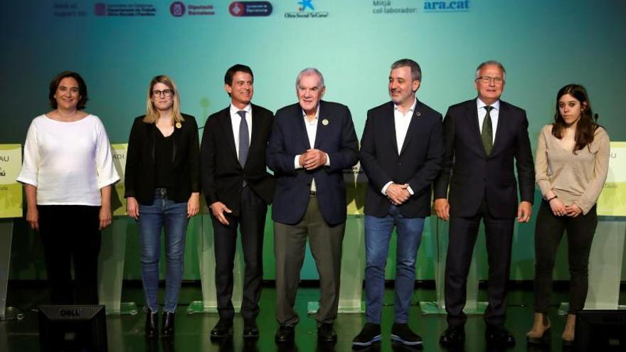 Empate técnico entre Colau y Maragall en Barcelona, según el CIS