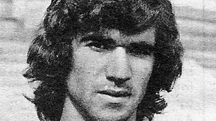 Paco Brito, jugador y capitán del CD Tenerife.