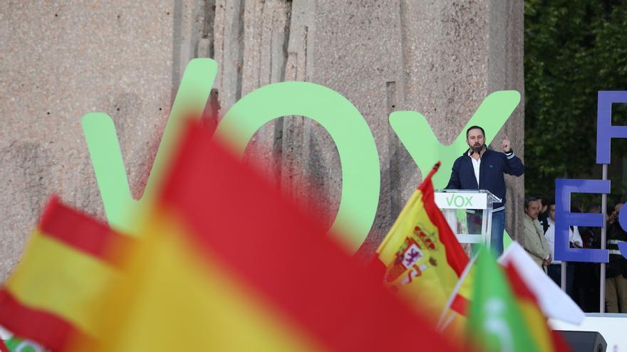 """Abascal erige a Vox como único capaz de asegurar la unidad nacional, que defiende """"con todas las consecuencias"""""""