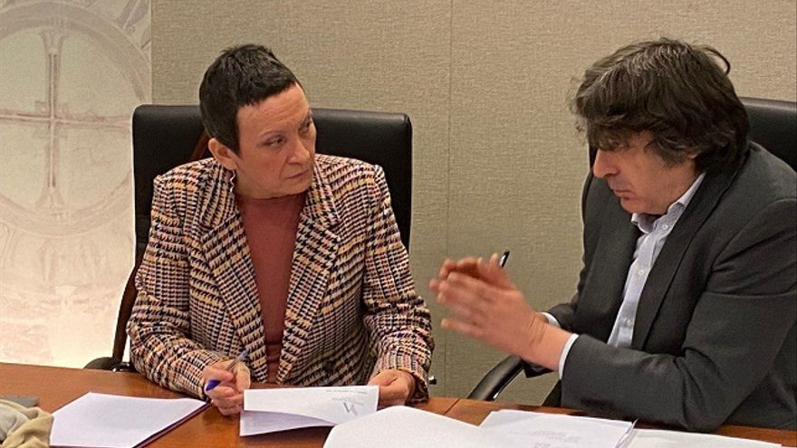 María Marín y Rafael Esteban Palazón, diputados de Podemos Región de Murcia