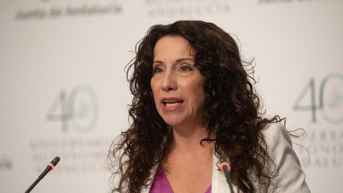 La consejera andaluza de Igualdad y Políticas Sociales, Rocío Ruiz, en una foto de archivo.