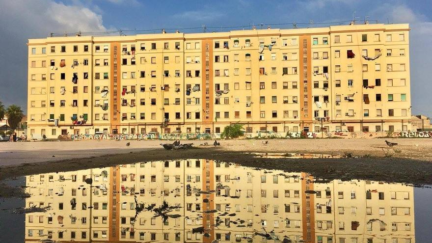 El bloque de Portuarios del Cabanyal