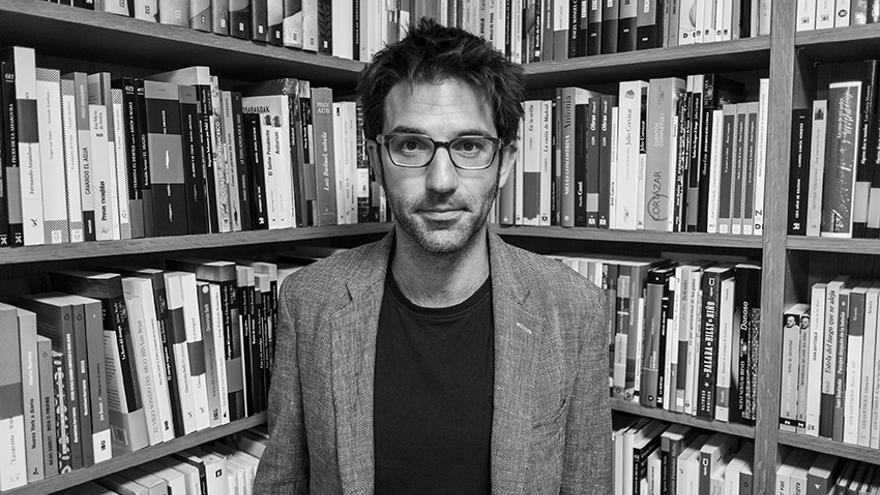 El periodista, escritor y poeta Marcos Díez dirige la Fundación Santander Creativa.   Jesús Sánchez