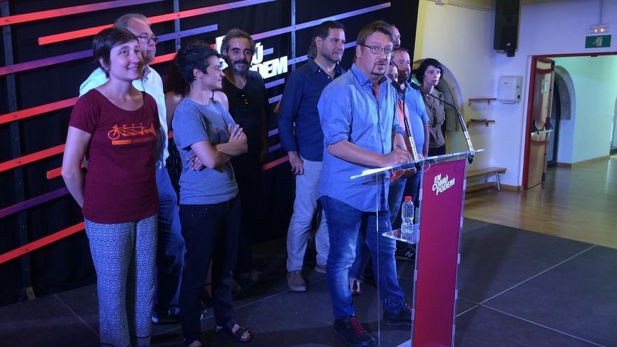 """Domènech (ECP) se dispone a """"construir desde la oposición"""" y no ve terceras elecciones"""