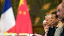Macron pide un enfoque coordinado de la Unión Europea hacia China