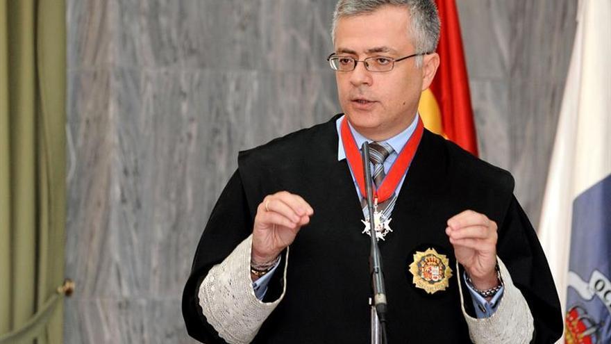 El fiscal jefe de la Fiscalía Provincial de Las Palmas, Guillermo García-Panasco
