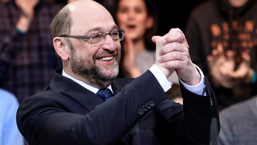 Schulz, designado candidato socialdemócrata a las elecciones alemanas