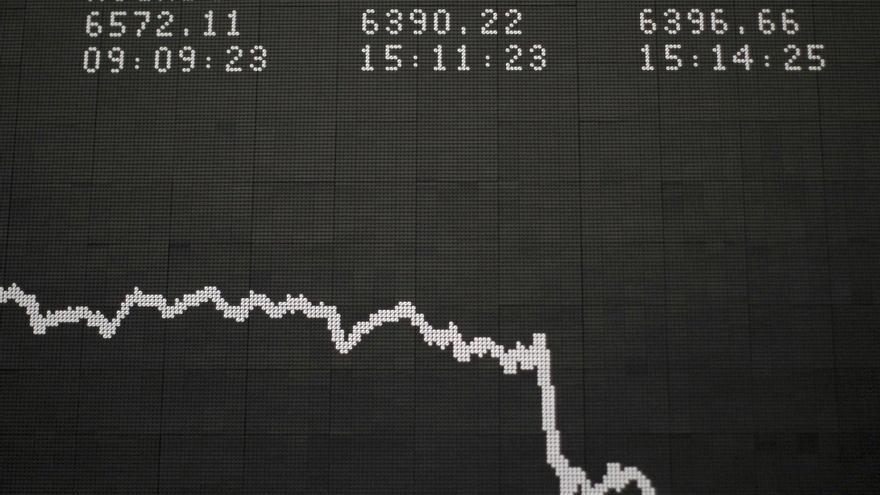 La Bolsa de Fráncfort abre a la baja y su índice DAX 30 cae un 0,58 por ciento
