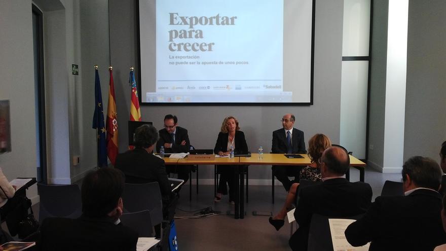 Jornada organizada por el Banco Sabadell en Valencia.