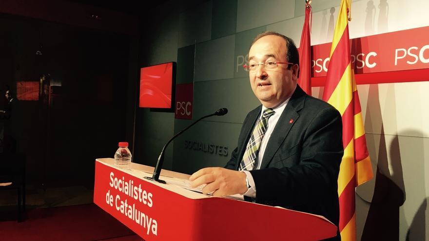 """Iceta cree que un pacto del PSC con Colau puede servir """"de ejemplo a nivel español"""""""