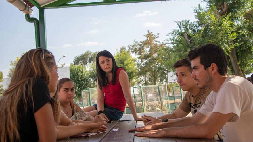 Actividad del proyecto de intercambio juvenil europeo financiado por el programa Erasmus Plus 'New Tools for Employability'