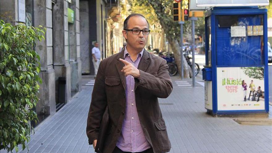 Turull (CiU) asegura que la Generalitat seguirá liderando el 9N
