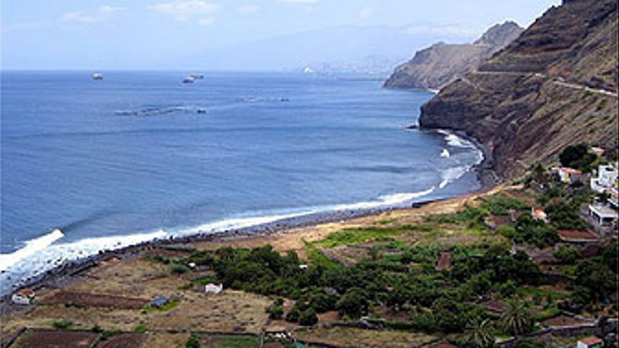 Panorámica de Igueste, en Santa Cruz de Tenerife.