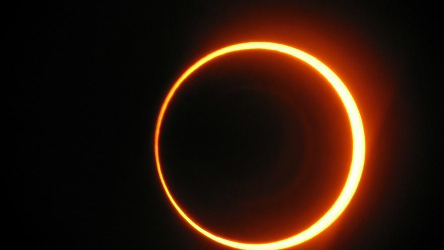 Eclipse solar anular, uno de los eventos astronómicos más espectaculares. Abel Pardo López